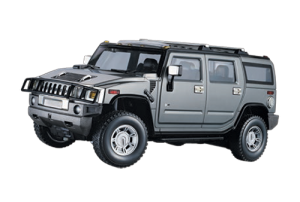 Mitashi Dash 1:24 Rechargeable R/C Hummer Car